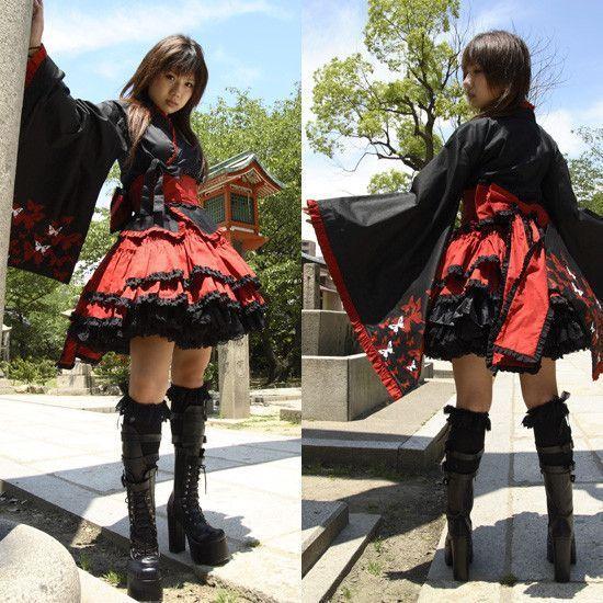 Les styles vestimentaires japonais 8  Les Wa Lolitas