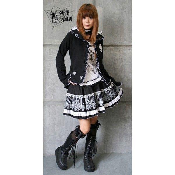 les styles vestimentaires japonais 12 les punk lolitas. Black Bedroom Furniture Sets. Home Design Ideas